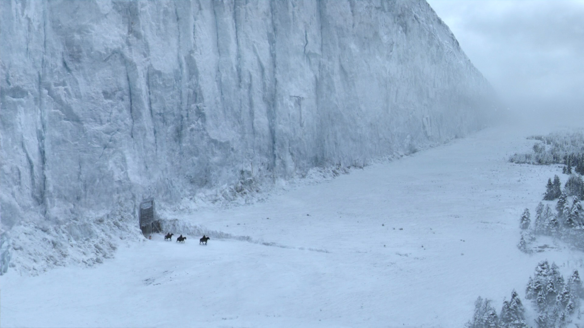 ¿Es posible construir el muro de hielo de Game of Thrones?