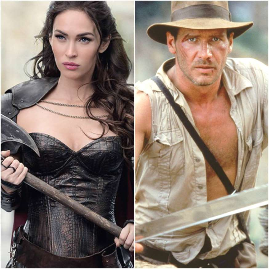 ¿Imaginan a Megan Fox como Indiana Jones?