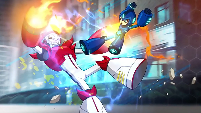 Mega-Man-animada