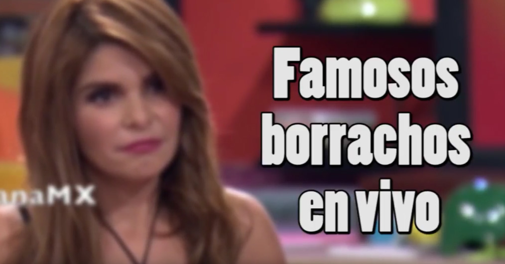 Video: Famosos que aparecieron borrachos en público