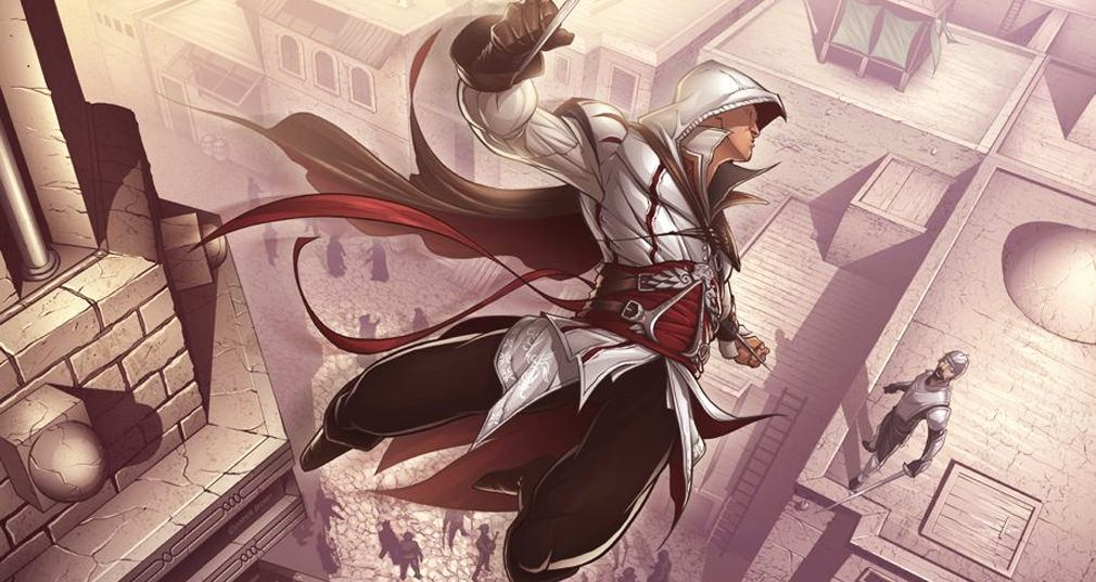 ¡Así se ve Assassin´s Creed como un anime!
