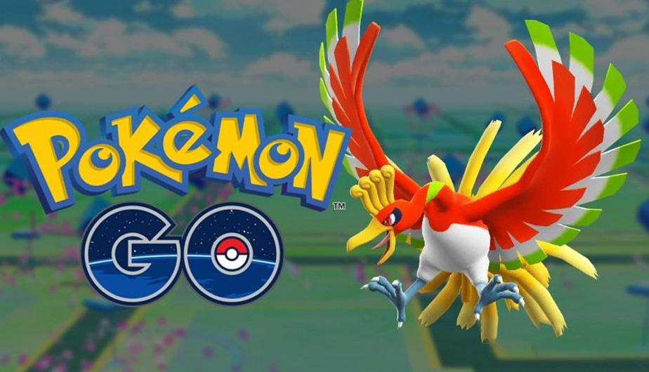 Ho-Oh ya está disponible en Pokémon Go