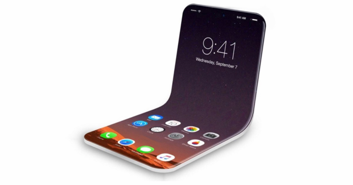 Apple planea un celular plegable