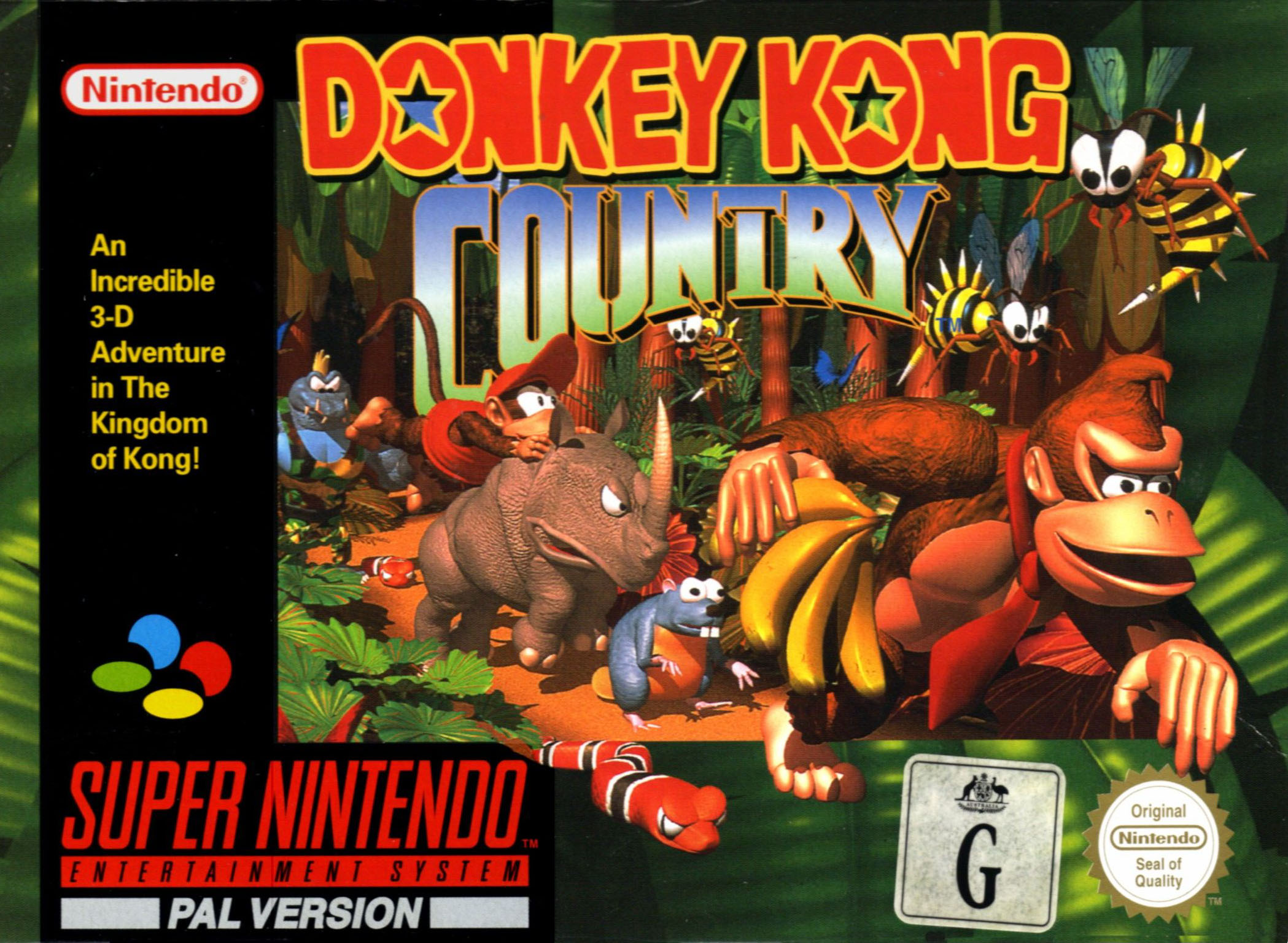 Fan recrea Donkey Kong Country 2 en versión HD