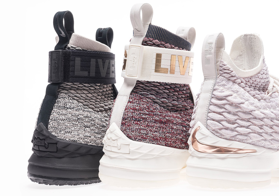 "Te presentamos los KITH x Lebron 15 ""The Three Kings"""