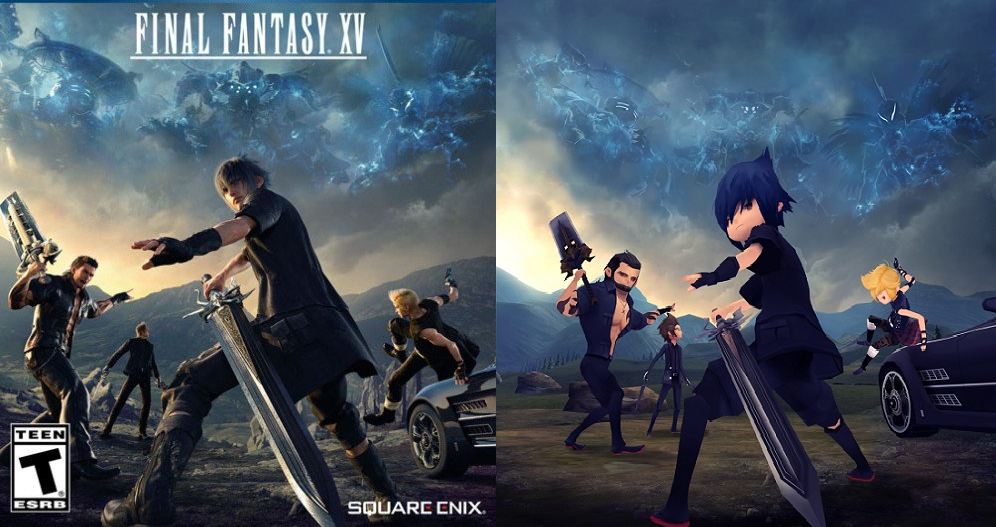 Prepárense para Final Fantasy XV Pocket Edition