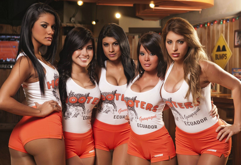 Hooters quiere quitar a sus meseras