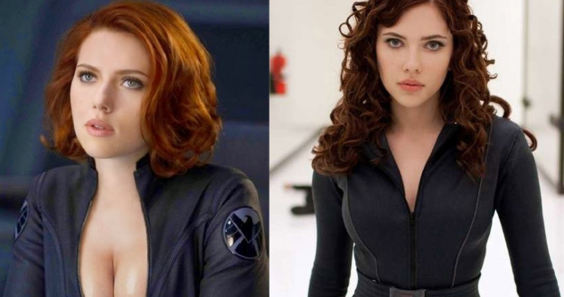 Las sexies transformaciones de Black Widow