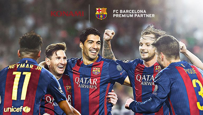 PES revela trailer con gameplay del Barcelona