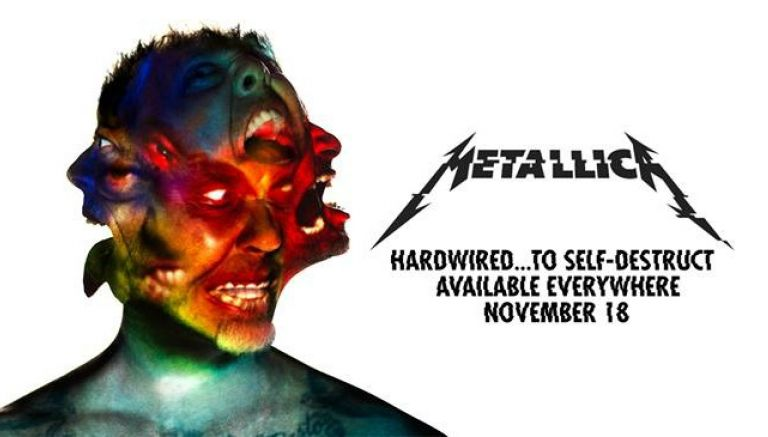Metallica regresa con todo el poder de Hardwired