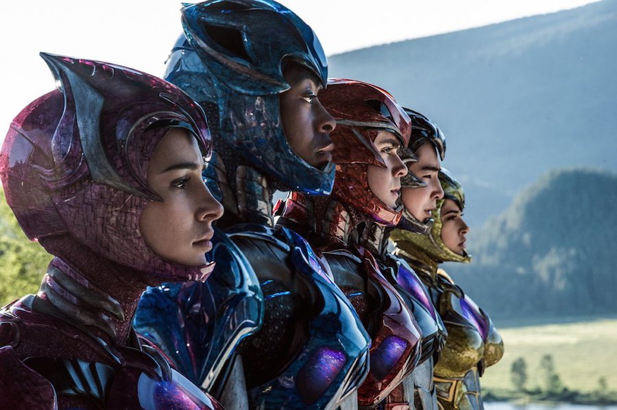 Checa el primer trailer de Power Rangers