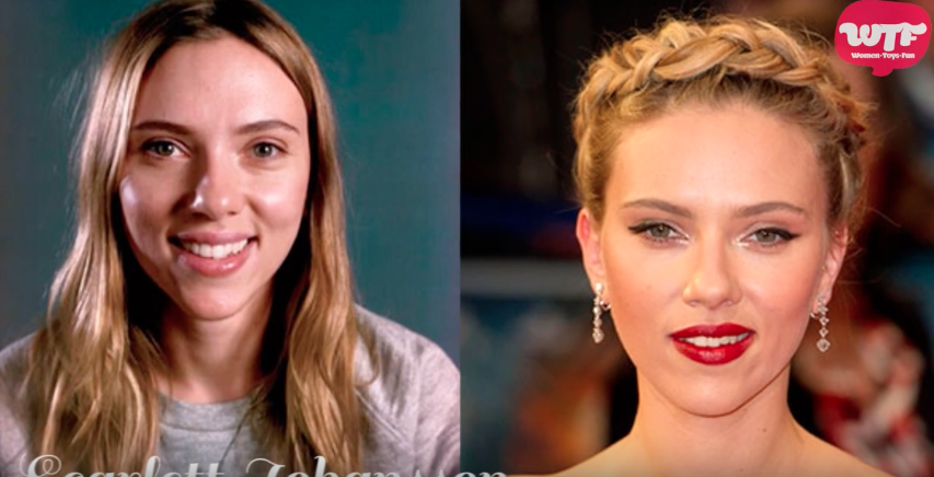 Video: Famosas antes y después del maquillaje