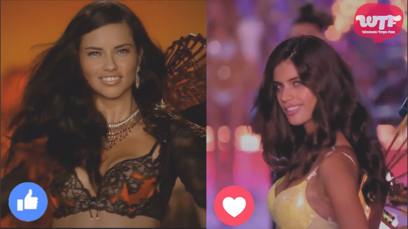Video: Adriana Lima VS Sara Sampaio