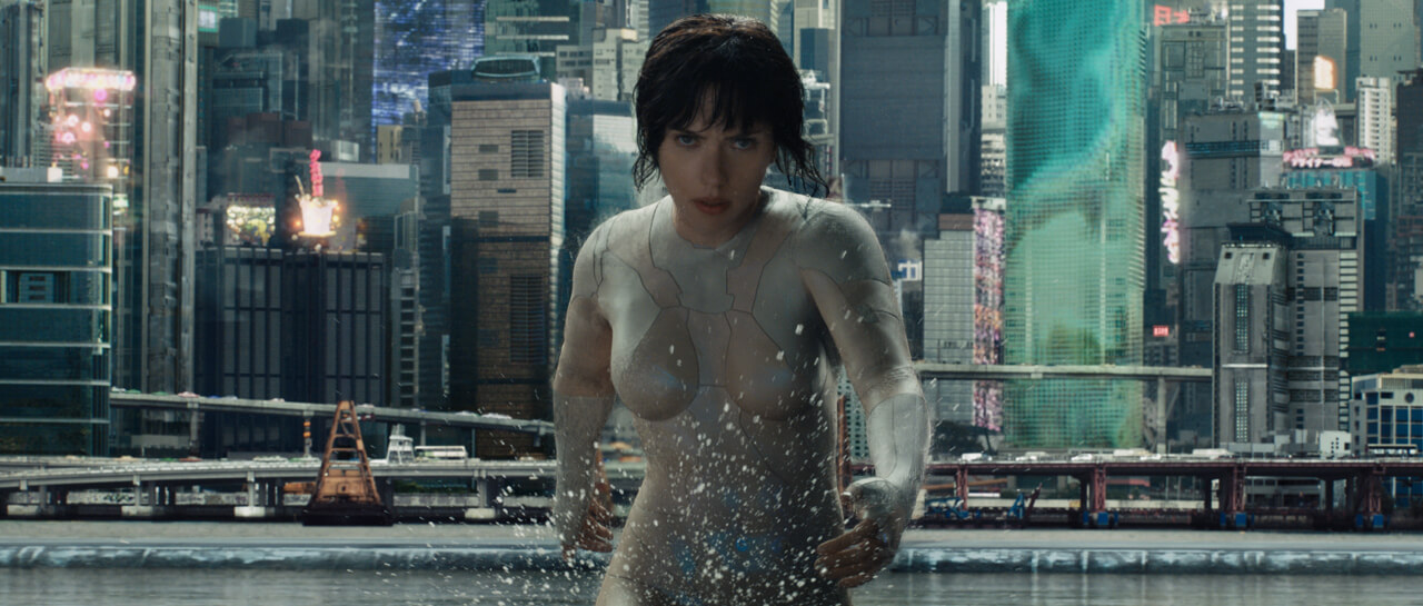 Ghost in the Shell inicia floja en taquilla