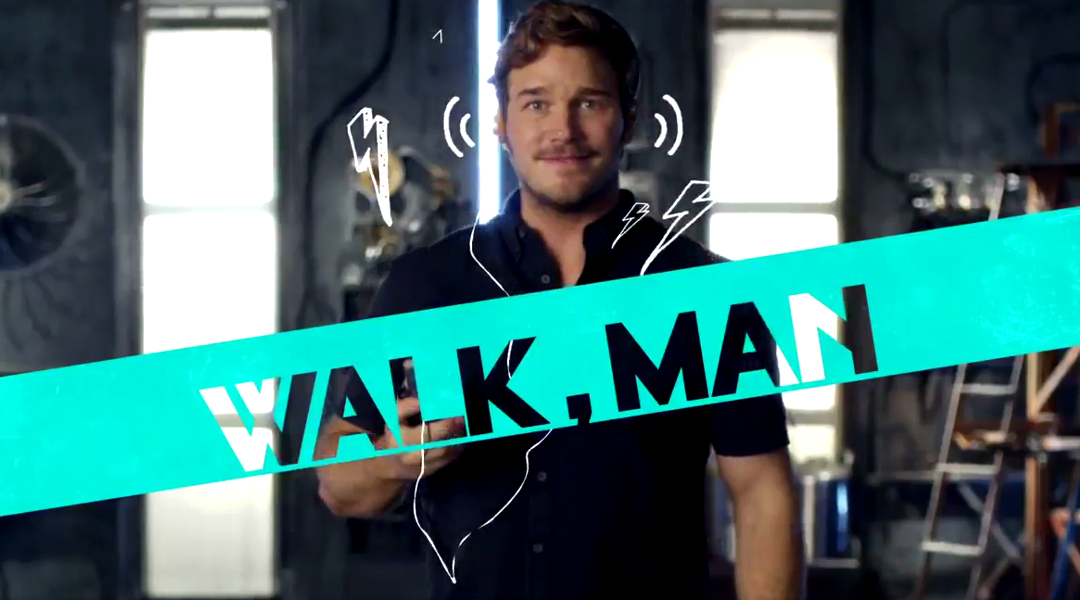 Star Lord nos explica qué es un Walkman en promo de Guardians of the Galaxy Vol. 2