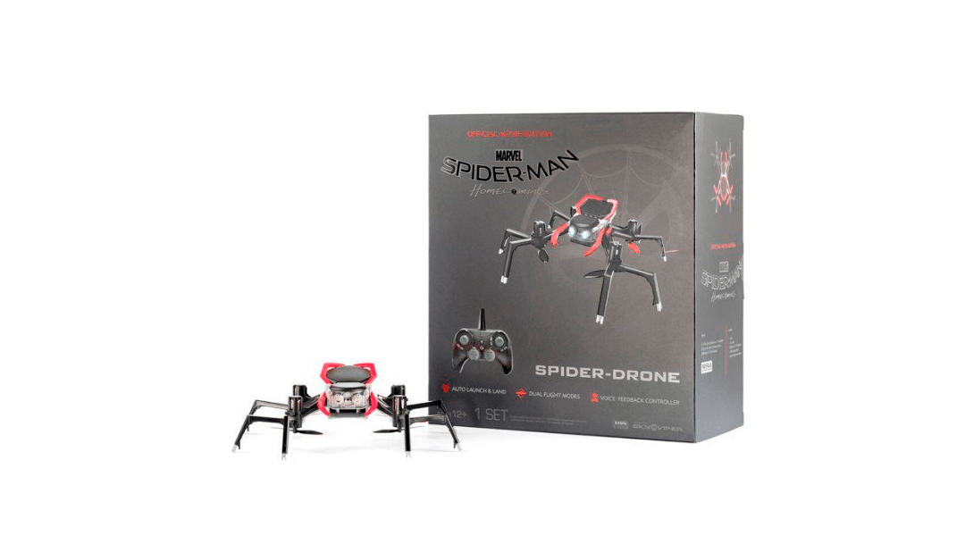Así será el drone de Spiderman: Homecoming