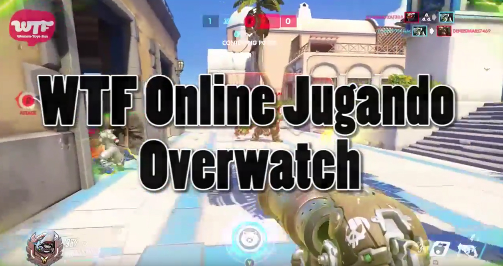 Video: WTF Online jugando Overwatch