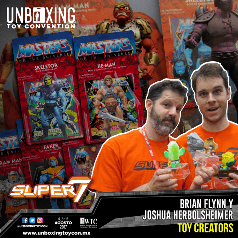Super7 por primera vez en México en el Unboxing Toy Convention