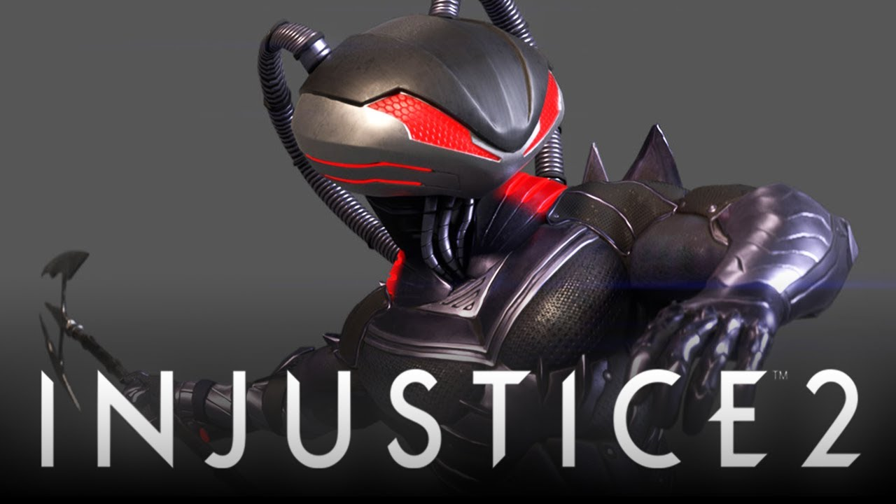 Chécate el gameplay de Black Manta en Injustice 2