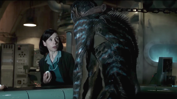 Tráiler final de The Shape of water lo nuevo de Guillermo Del Toro