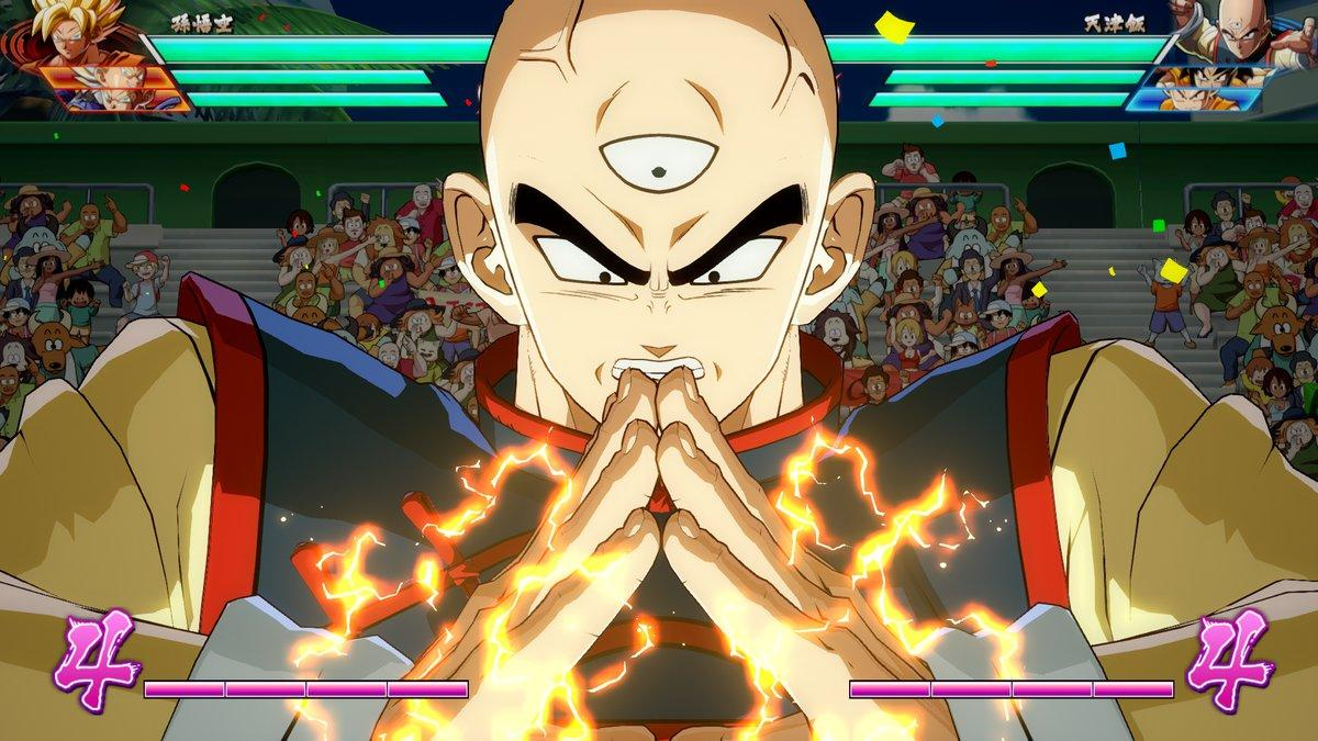 Ten Shin Han en Dragon Ball Fighterz
