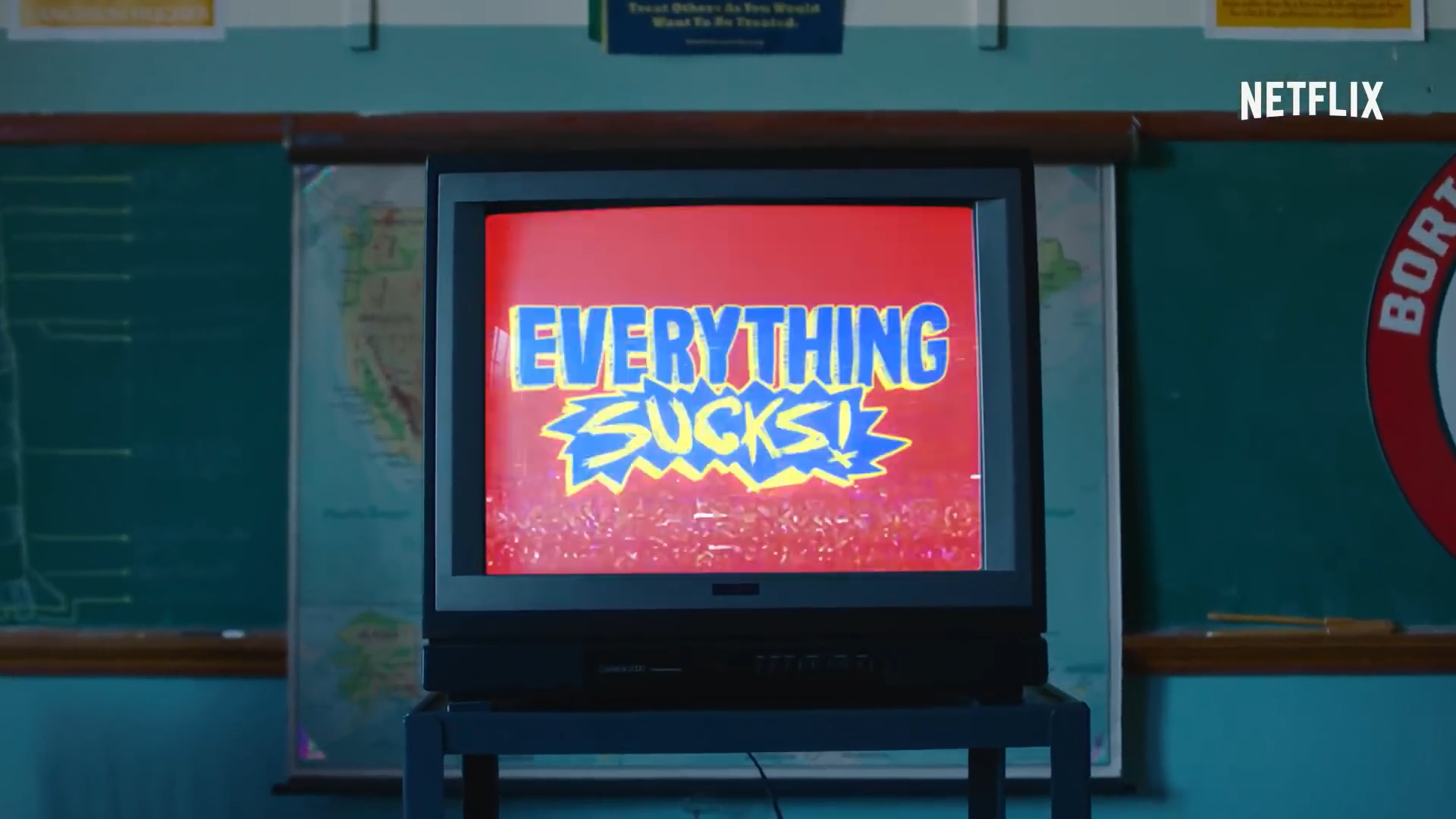 Netflix nos regresa a los 90 con su nueva serie, Everithing Sucks!