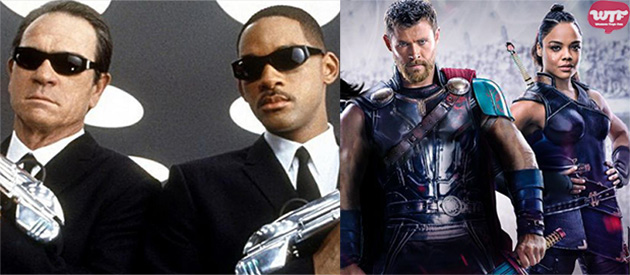 "Thor y Valkyria protagonizarán ""Men in Black 4"""