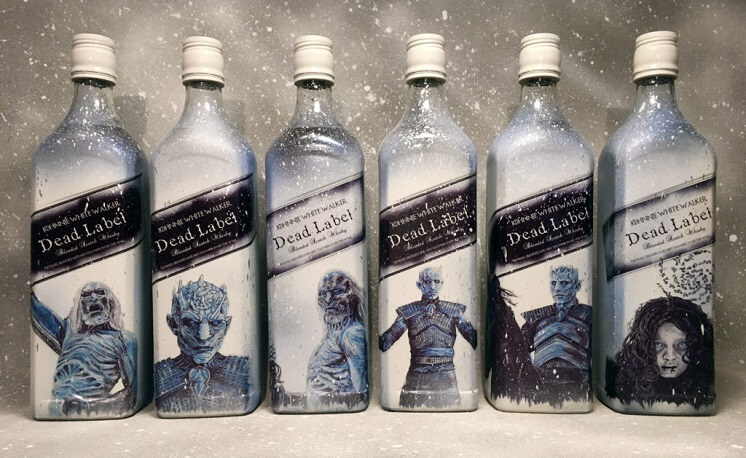 "Johnnie Walker estrena botella de ""Game of Thrones"""