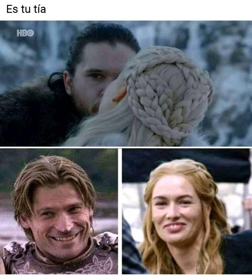 Los memes del primer episodio de Game of Thrones