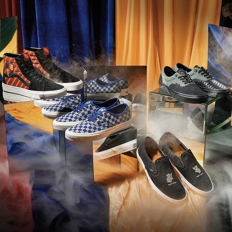 Así son los Vans de Harry Potter