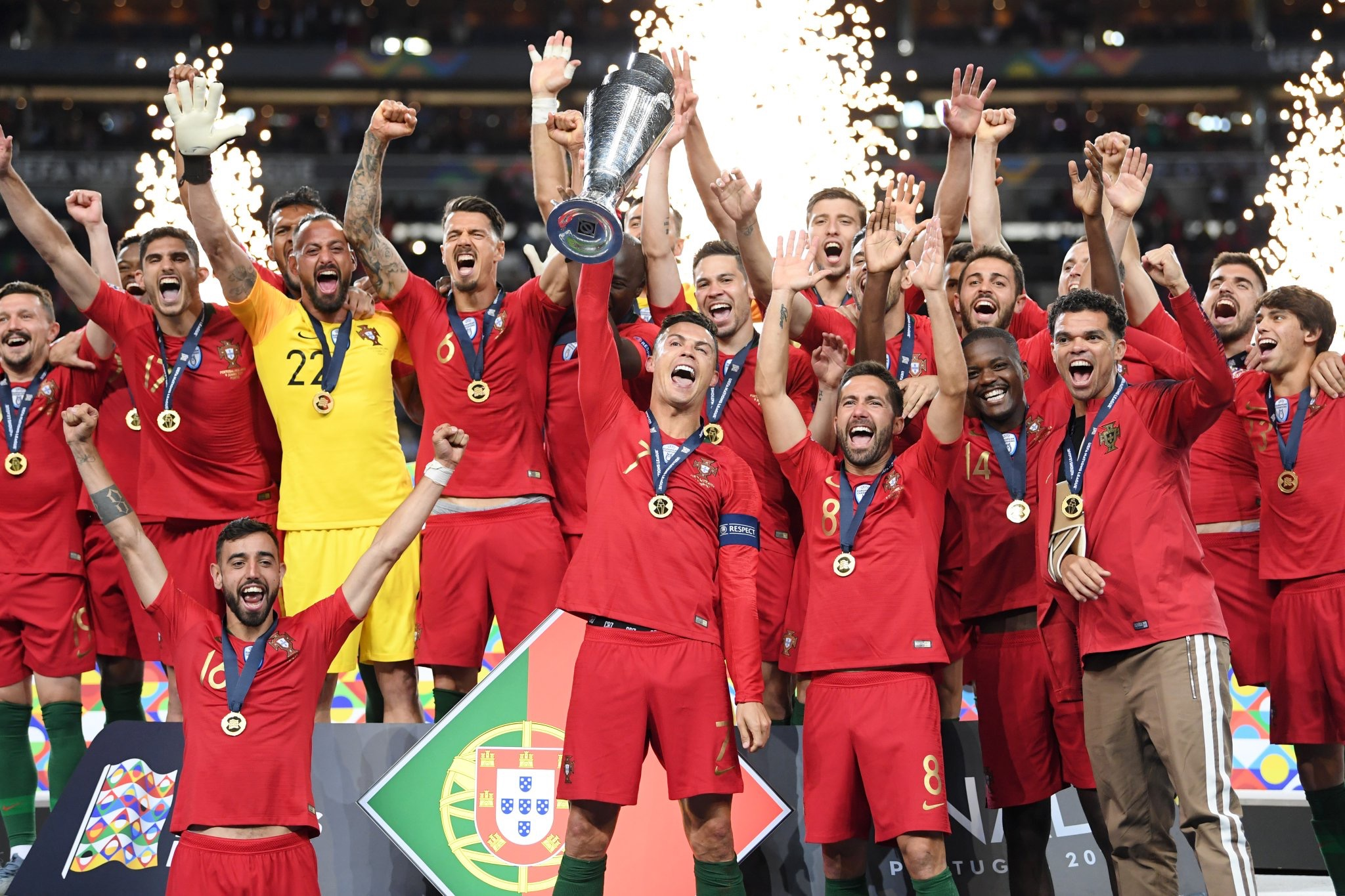 La Portugal de Cristiano se lleva la Nations League