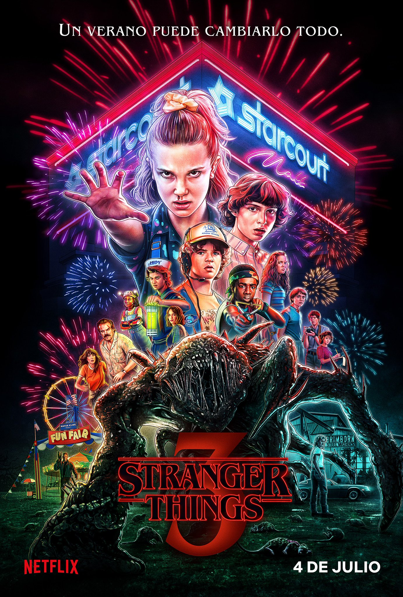 ¡El trailer final de Stranger Things T3 es épico!