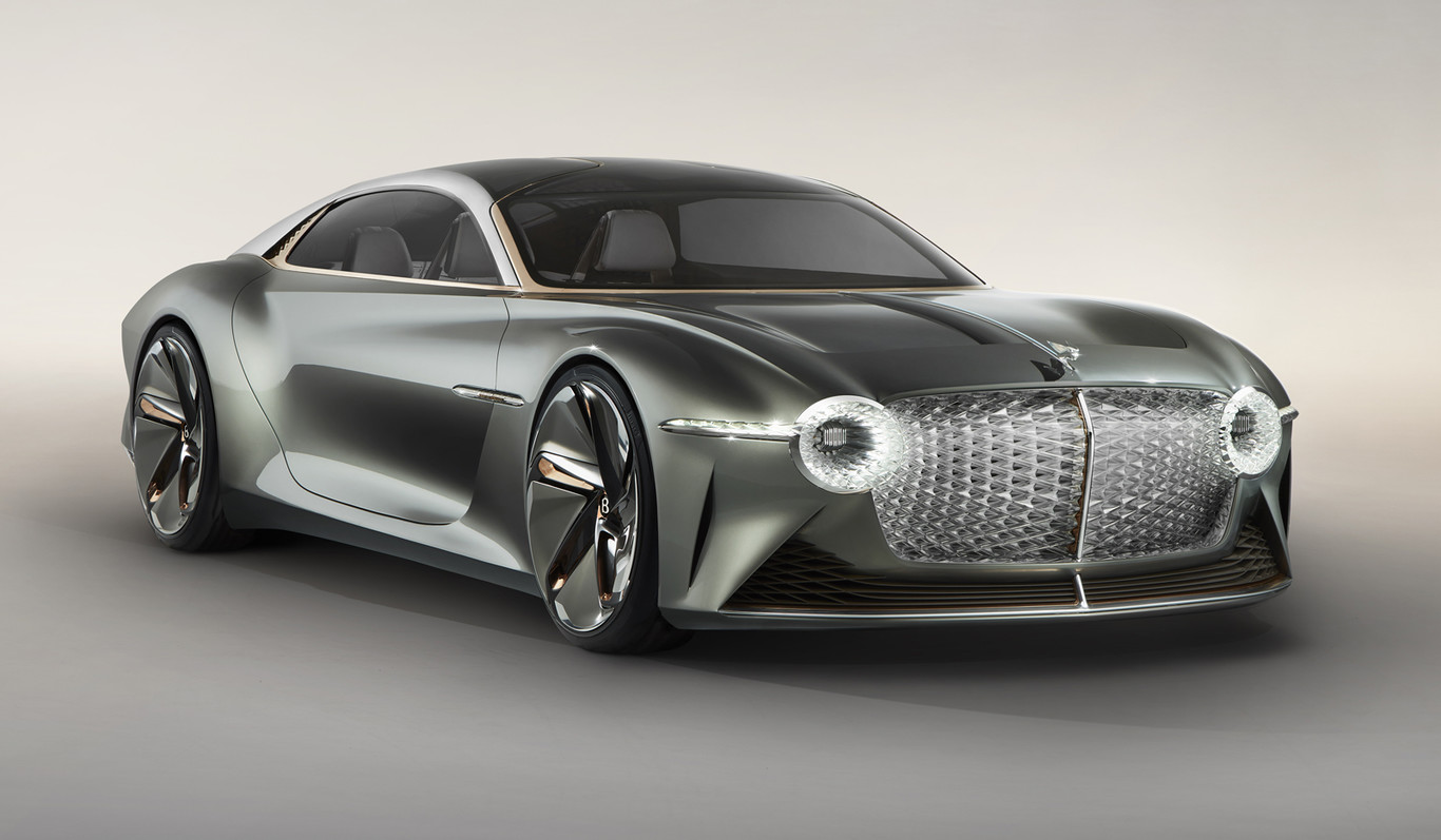 Bentley EXP 100 GT: un lujo electrizante