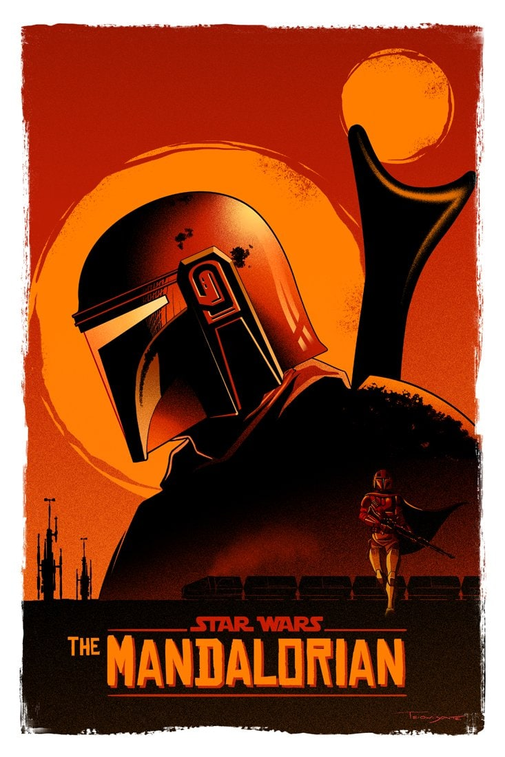 Star Wars estrena el trailer de The Mandalorian, su nueva serie de Disney +