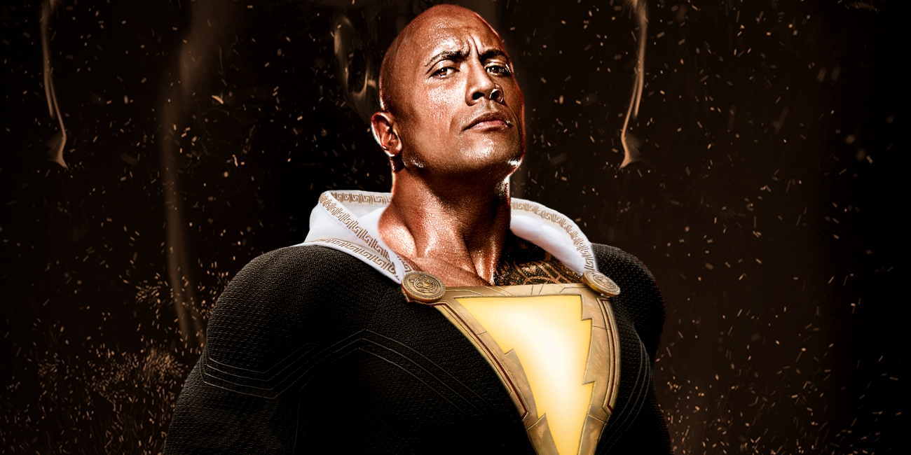 "¡""The Rock"" será ""Black Adam""!"