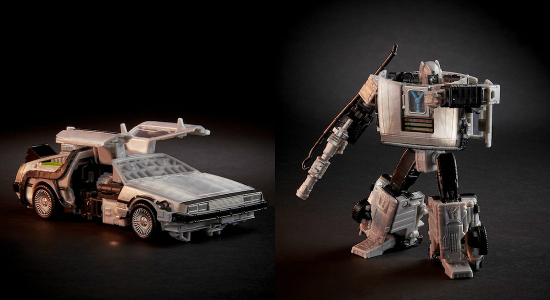 ¡Back To The Future y Transformer se unen!