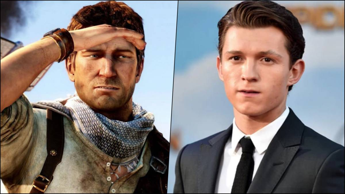 Así se ve Tom Holland como Nathan Drake
