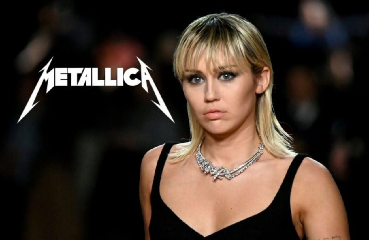 Miley Cyrus prepara un disco con covers de Metallica
